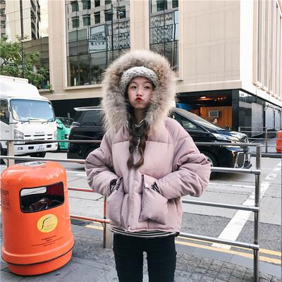 เสื้อกันหนาวฮู้ดดี้ แต่งเฟอร์ขนฟู สีชมพู ทั้งอุ่นทั้งน่ารัก แนะนำเลยจ้า
