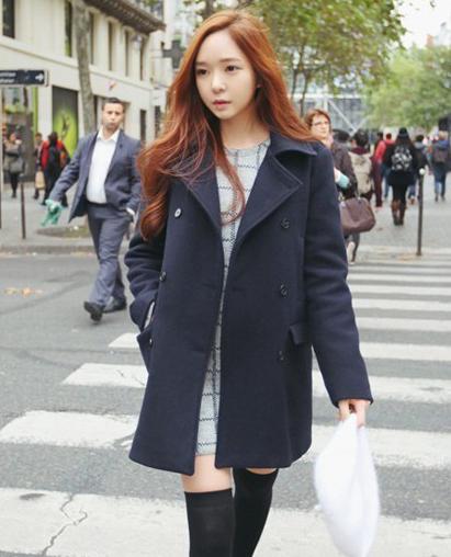 เสื้อโค้ทกันหนาว กระดุม 2 แถว สไตล์เกาหลี พร้อมส่ง