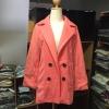 M : CLASSIC OLD ROSE COAT [ เสื้อโค้ท กันหนาว สีโอรส ] พร้อมส่ง