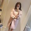 สีชมพูอ่อน M : เสื้อโค้ทกันหนาว ทรงสวย