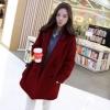 XL: เสื้อโค้ทกันหนาว สไตล์เกาหลี ทรงเรียบง่าย ทรงยาว ดูดี ผ้าวูลผสมบุซับในกันลม จะใส่คลุม หรือใส่เป็นโค้ทก้สวยเก๋ พร้อมส่งจ้า