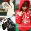เสื้อกันหนาว ฮู้ดดี้ ลายเกล็ดหิมะ กวาง น่ารัก เลือกสีที่พร้อมส่งด้านในเลยจ้า