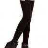 สีดำ: Legging เลกกิ้งกันหนาว รัดส้นเท้า เนื้อนุ่ม ด้านในเป็นผ้าสำลี ไม่หนามาก ยืดได้เยอะ ใส่สบาย
