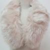 ขนเฟอร์ fur สีชมพูนู๊ด ขนนุ่มลื่น ใช้ติดเสื้อหนาว หรือใช้พันคอเพิ่มความเก๋ มิกได้กับทุกชุด มาพร้อมกระดุมใส