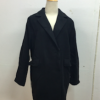 สีดำ XL : เสื้อโค้ทกันหนาว ทรงสวย มีสไตล์ ผ้าวูลเนื้อดี บุซับในกันลม พร้อมส่งจ้า