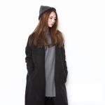 เสื้อคลุมกันหนาว ยาว 37 นิ้ว ไหมพรม เรียบๆ เกาหลีสุดๆ ใครชอบแนวเกาหลี จัดเลยนะคะ