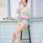 Legging เลกกิ้งกันหนาว สีเนื้อ ด้านในเป็นผ้าสำลี ยืดได้เยอะ กระชับทรง คลุมส้นเท้า พร้อมส่งเลยจ้า