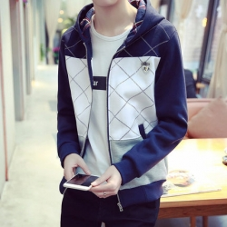 เสื้อคลุมผู้ชาย สไตล์เกาหลี ทรงสวย ผ้า cotton