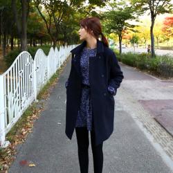 เสื้อโค้ทกันหนาว ทรงสวย ใส่ได้หลายแบบ ผ้าดีบุซับในกันลม พร้อมส่ง
