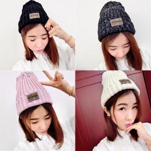 หมวกไหมพรม ทรงยอดฮิต หลากสี เกาหลีสุดๆ